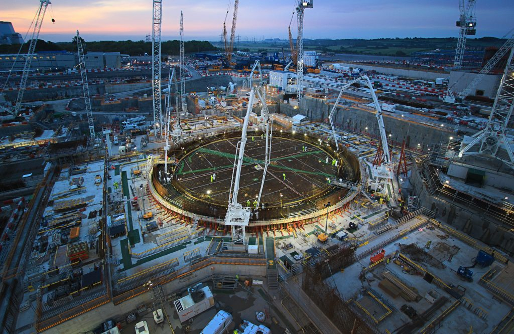 Welsh Nuclear industry contribution to Hinkley Point C