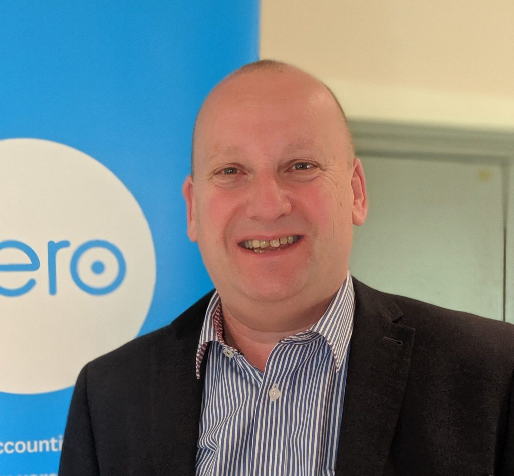 Photo of Graham Potts, Managing Director of Wessex Commercial Solutions