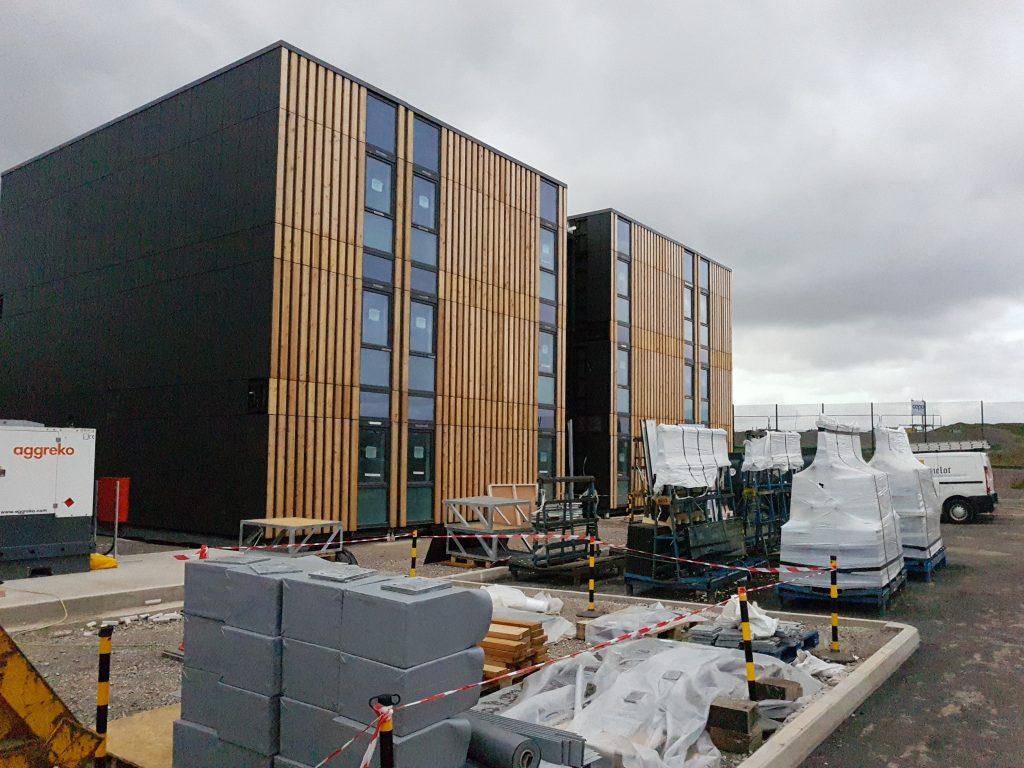 HOST campus under construction