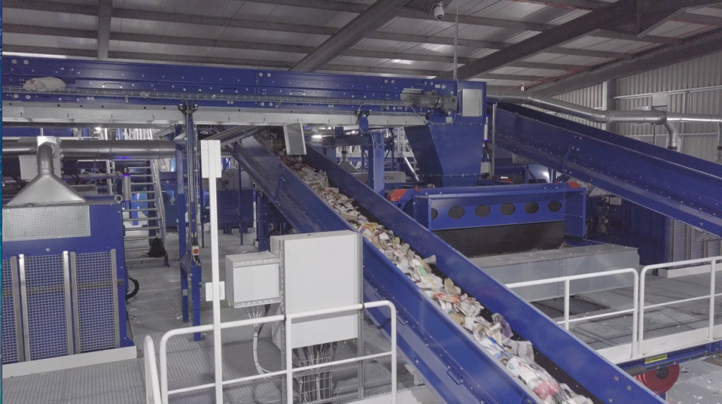 Photo of Bryn Pica Waste Management Facility run by Rhondda Cynon Taf Borough Council, who were advised by Capital Law